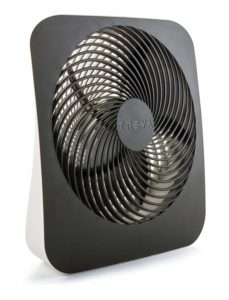 Treva 10-Inch Portable Desktop Air Circulation Battery Fan