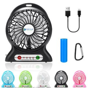 dizauL Mini Portable Fan